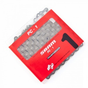 Цепь SRAM PC-1 Nickel SnapLock 1 скорость