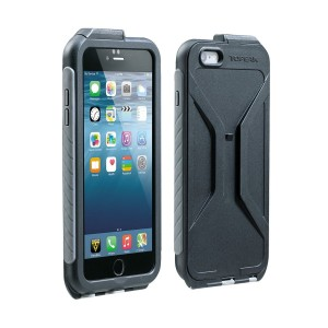 TOPEAK Weatherproof RideCase w/RideCase Mount for iPhone 6 водонепроницаемый чехол, black/grey